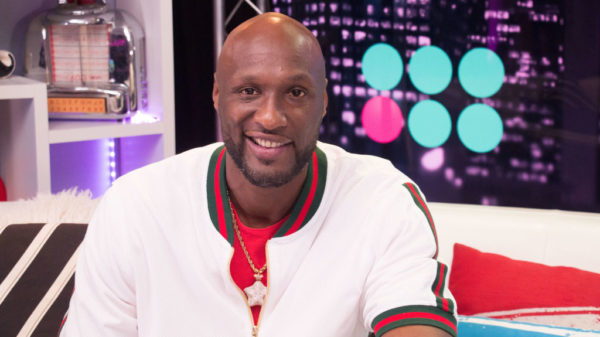 LOS ANGELES, CALIFORNIA - SEPTEMBER 11: (EXCLUSIVE COVERAGE) Lamar Odom visits the Young Hollywood Studio on September 11, 2019 in Los Angeles, California.