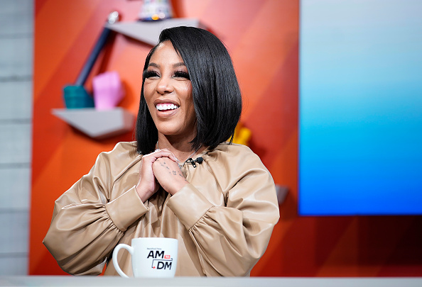 """K. Michelle visits BuzzFeed's """"AM To DM"""" on January 28, 2020 in New York City."""