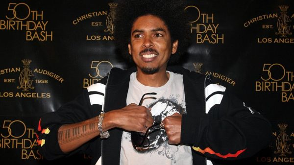 WESTWOOD, CA - MAY 23: Shock G arrives to Designer Christian Audigier`s 50th Birthday Bash at the Peterson Automotive Museum on May 23, 2008 in Los Angeles, California.