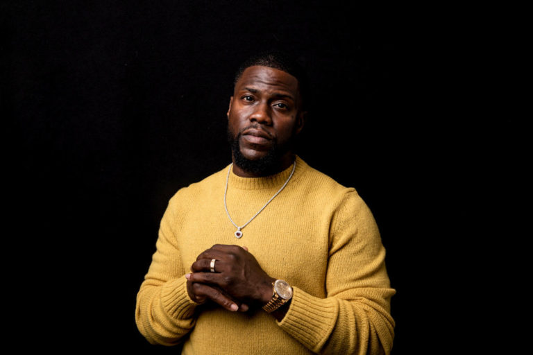 (AUSTRALIA OUT) American actor, Kevin Hart, is in Sydney with his co-star, Tiffany Haddish, for the premiere of their new film, The Secret Life of Pets 2, at the Sydney Film Festival, June 5, 2019.