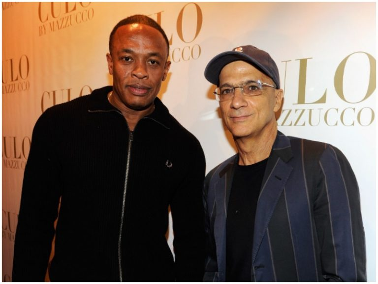 Dr. Dre and Jimmy Lovine