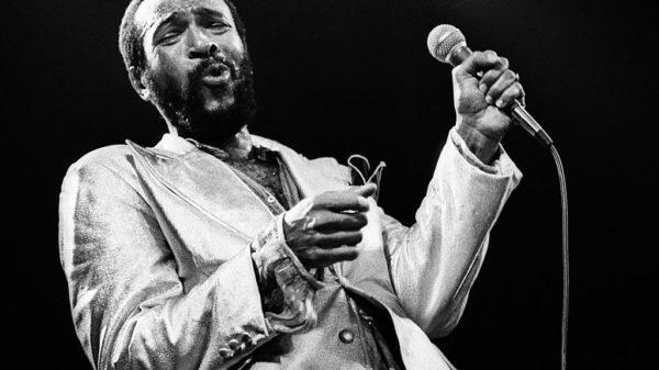 Marvin Gaye performs on stage at De Doelen, Rotterdam, Netherlands, 1st July 1980.