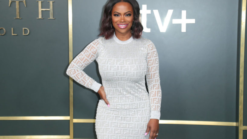 """BEVERLY HILLS, CALIFORNIA - NOVEMBER 11: Kandi Burruss attends Premiere Of Apple TV+'s """"Truth Be Told"""" at AMPAS Samuel Goldwyn Theater on November 11, 2019 in Beverly Hills, California."""
