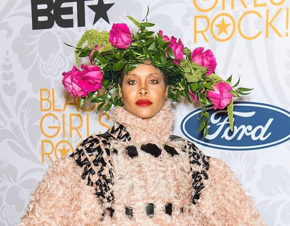 NEWARK, NJ - AUGUST 25: Singer-songwriter Erykah Badu attends 2019 Black Girls Rock! at NJ Performing Arts Center on August 25, 2019 in Newark, New Jersey.