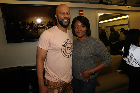 NEW YORK, NEW YORK - OCTOBER 08: Common and Tiffany Hadish at The Apollo Theater on October 08, 2019 in New York City.