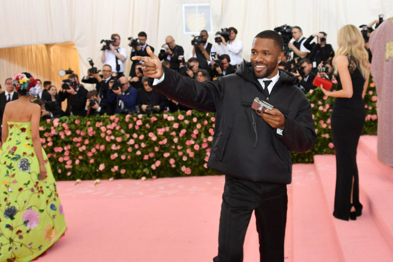 NEW YORK, NEW YORK - MAY 06: Frank Ocean attends The 2019 Met Gala Celebrating Camp: Notes on Fashion at Metropolitan Museum of Art on May 06, 2019 in New York City.