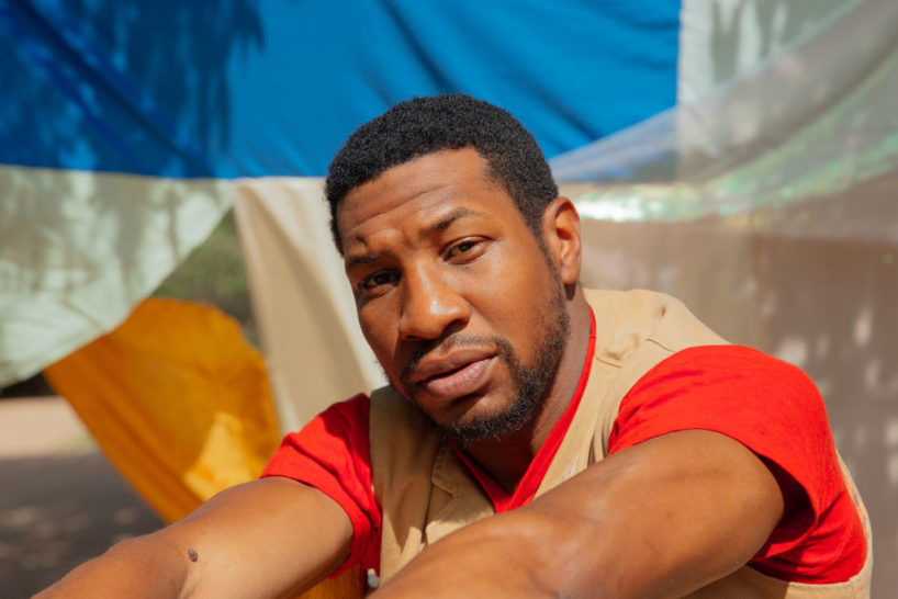 SANTA FE, NM - August 2nd: Jonathan Majors poses for a portrait at his home in Santa Fe, New Mexico on August 2, 2020. Majors is starring in a new HBO series, Lovecraft Country airing August 16, 2020.