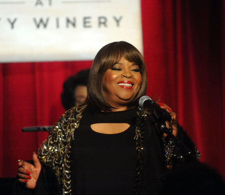 NEW YORK, NY - NOVEMBER 06: Sarah Dash performs A Tribute To Aretha Franklin at City Winery on November 6, 2018 in New York City.