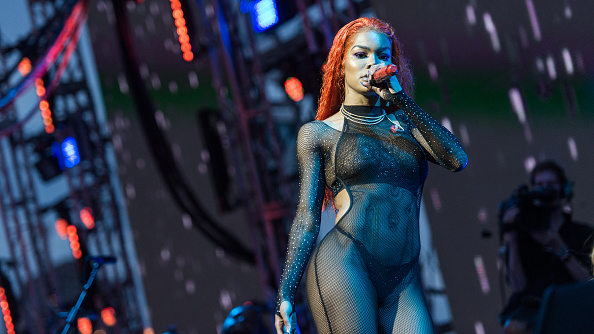 Teyana Taylor performs during WorldPride NYC 2019 on Pride Island on June 29, 2019 in New York City.