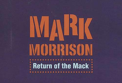 Return of the Mack CD Cover