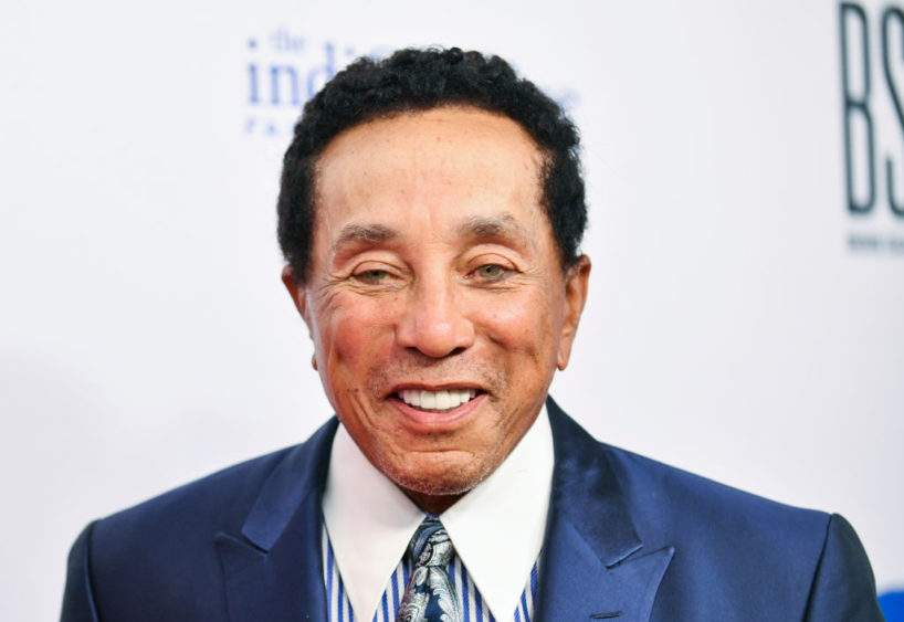 """BEVERLY HILLS, CALIFORNIA - AUGUST 20: William """"Smokey"""" Robinson Jr attends the Harold and Carole Pump Foundation Gala at The Beverly Hilton on August 20, 2021 in Beverly Hills, California."""