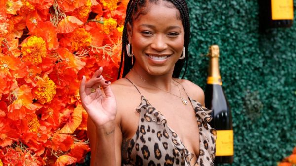 PACIFIC PALISADES, CALIFORNIA - OCTOBER 02: Keke Palmer attends the Veuve Clicquot Polo Classic at Will Rogers State Historic Park on October 02, 2021 in Pacific Palisades, California.
