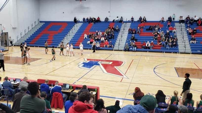 Roncalli hosted Lawrence North in girls hoops regular season game Jan. 2. Lawrence North won, 51-40, clinching win No. 20.