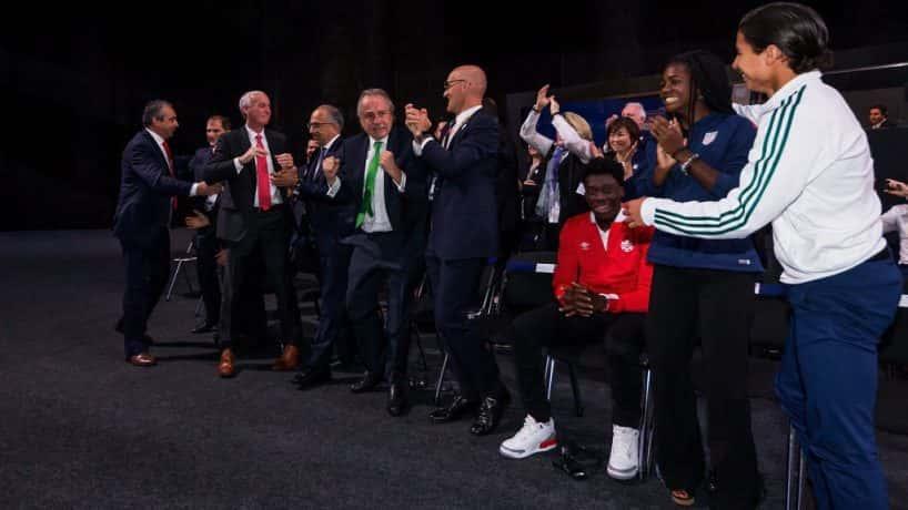 U.S., Mexico, Canada win World Cup bid