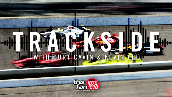 Trackside with Curt and Kevin