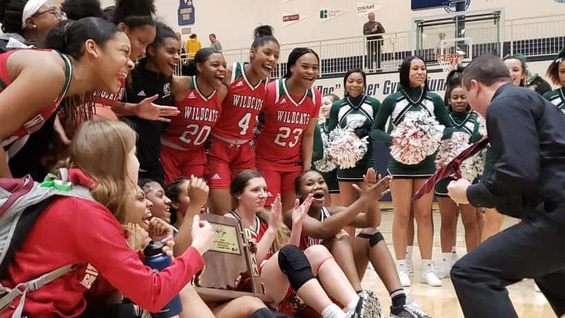 Lawrence North is one of three central Indiana teams remaining in the IHSAA Girls Basketball State Tournament.