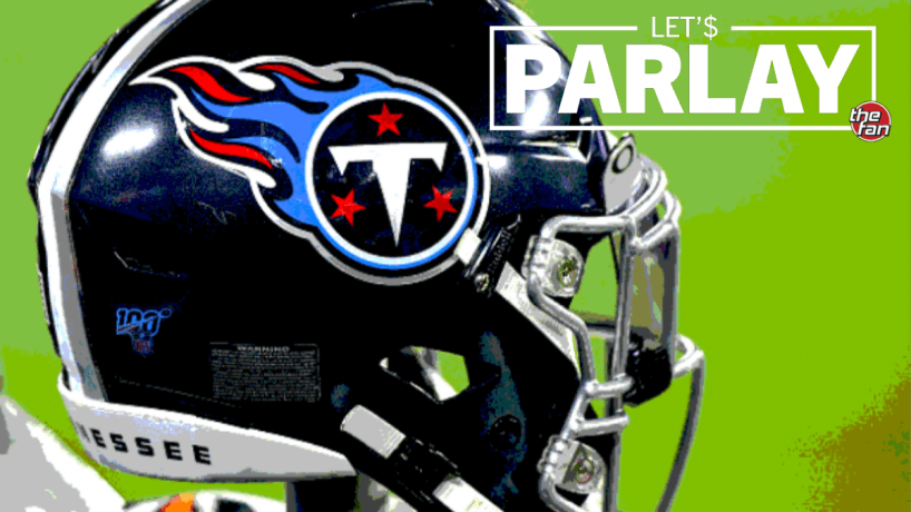 Let's Parlay, Tennessee Titans football helmet