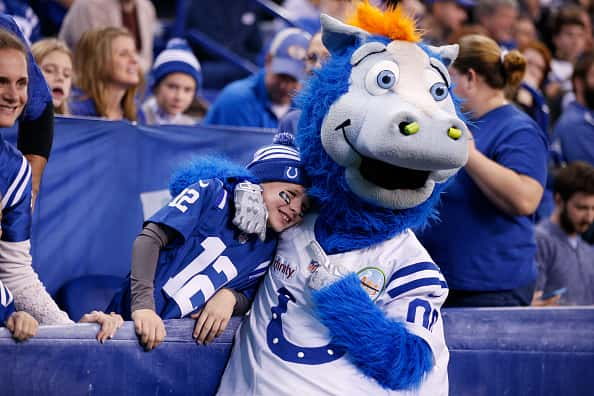 Colts Mascot Is Up For Induction Into Mascot Hall Of Fame 93 5 107 5 The Fan