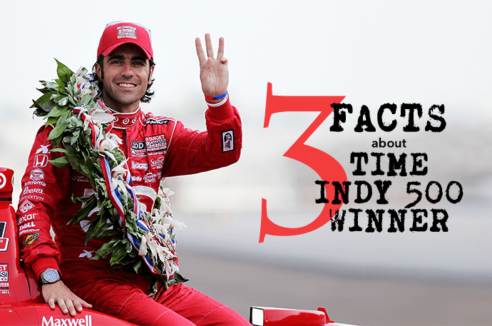 3 facts about Dario Franchitti