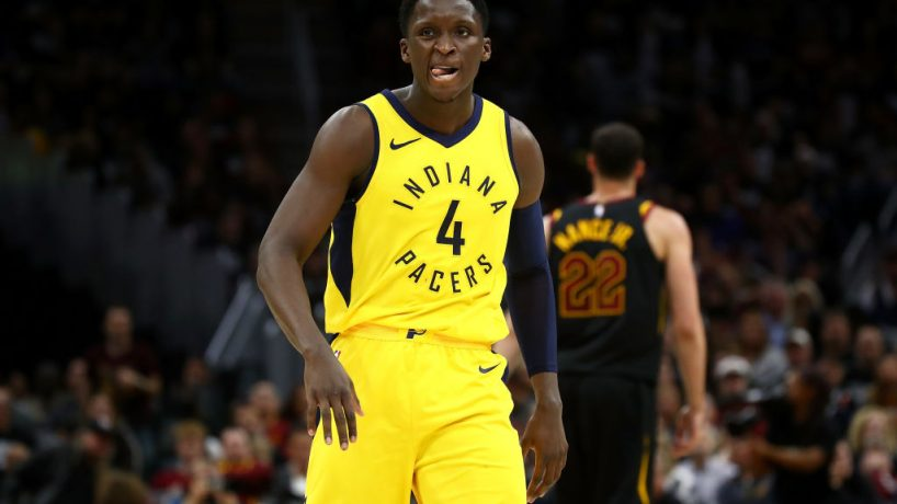 Pacers guard Victor Oladipo