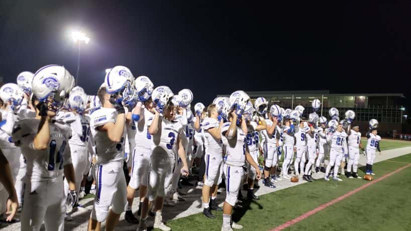 Bishop Chatard won their Sectional 28 first round game over Brebeuf, 49-7. Chatard advances to play North Montgomery next week.