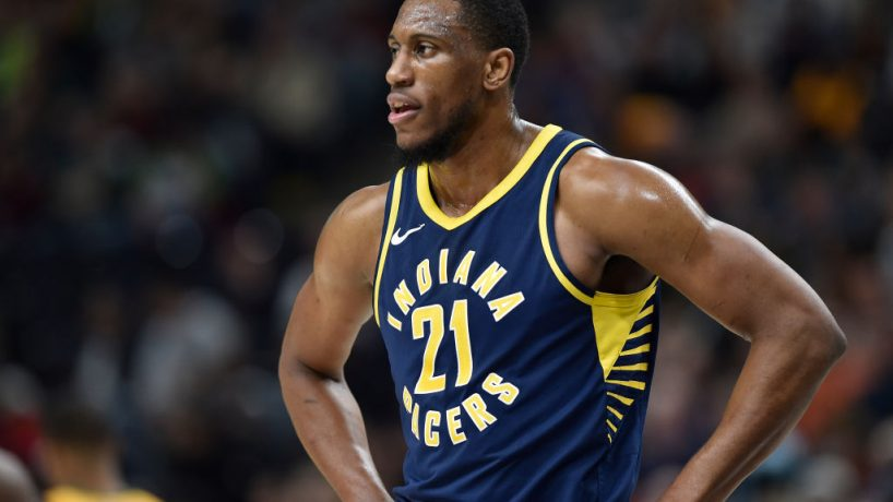 Pacers forward Thaddeus Young