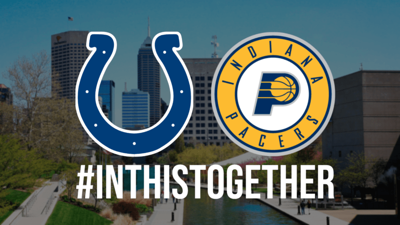 Colts and Pacers #inthistogether