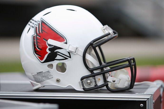 Ball State Football Helmet