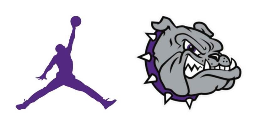 Purple Jordan Brownsburg Bulldogs