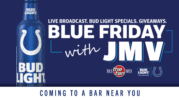 Bud Light Blue Fridays
