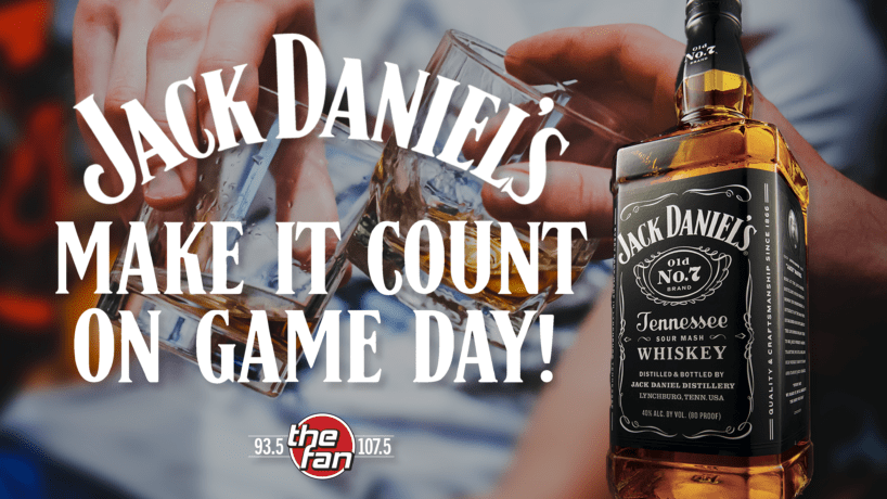 Jack Daniels Make it count on gameday