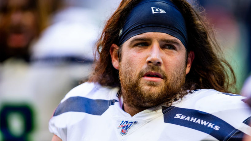 Colts OL-Joey Hunt used to play for the Seahawks.