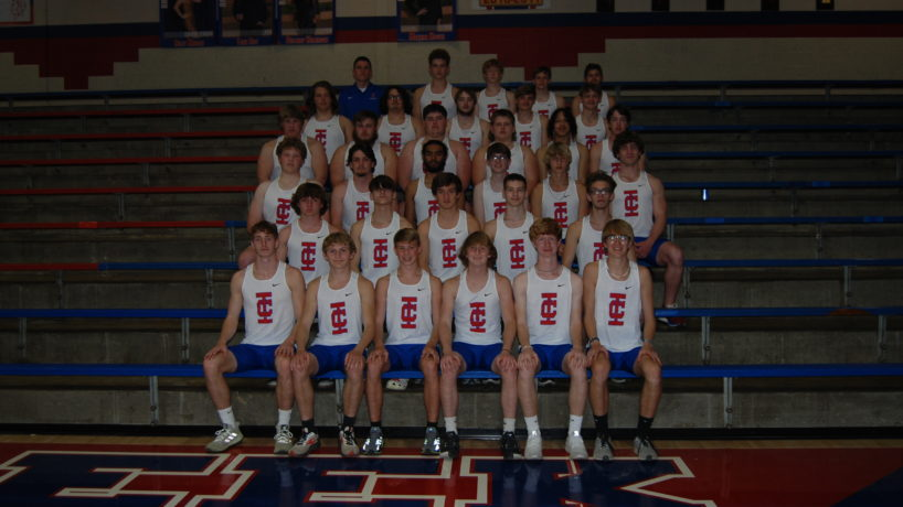 The Indian Creek Boys Track team photo