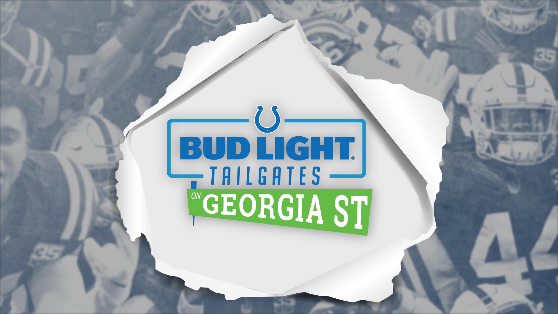 Colts Bud Light Tailgate on Georgia Street