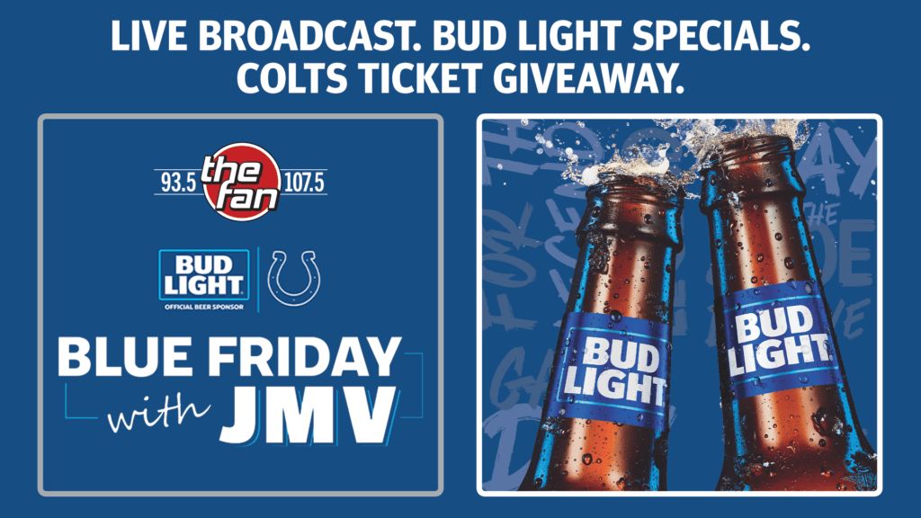 Live Broadcast. Bud Light Specials Colts ticket giveaway