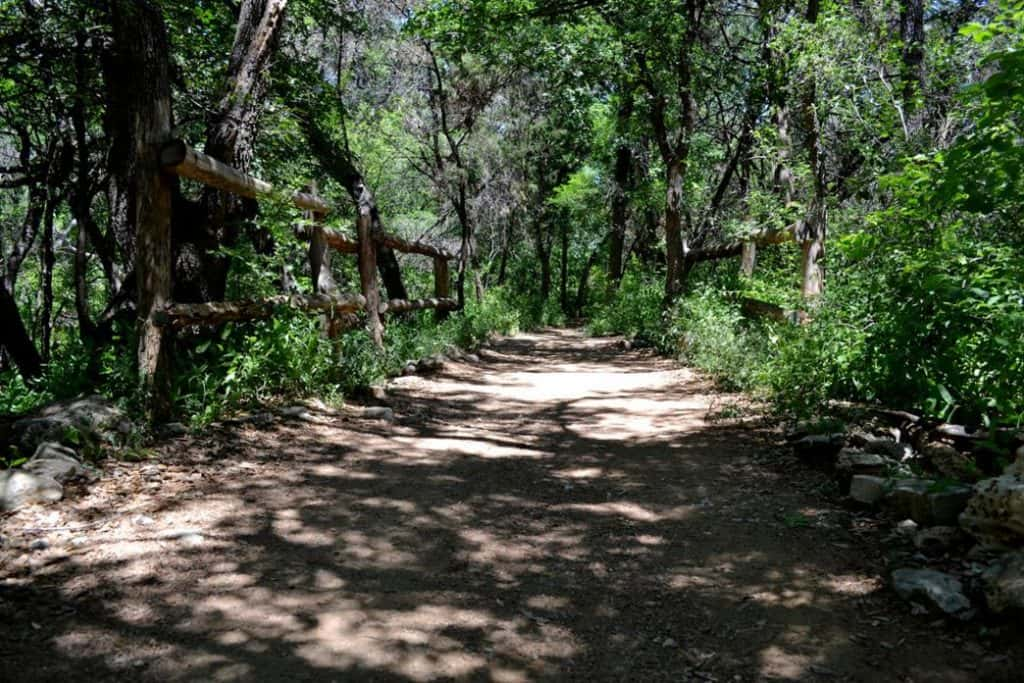 Barton Creek Greenbelt running trail