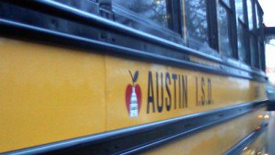 Austin ISD school bus