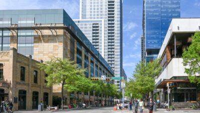 Crosswalk Downtown Austin