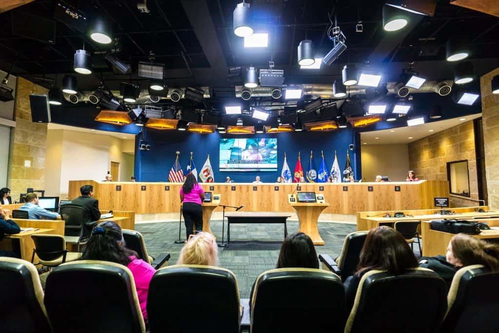 Austin City Council chambers