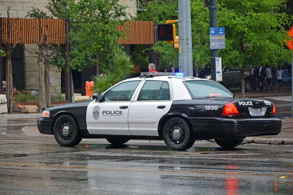 Austin police car