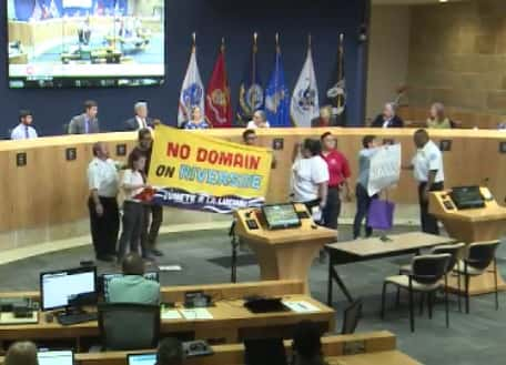 Protesters hijack an Austin City Council meeting