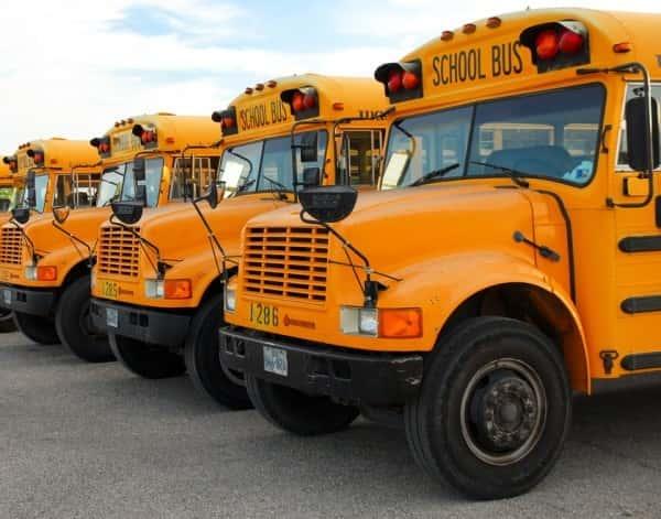 Austin ISD school buses
