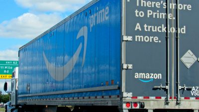Amazon 18 wheeler