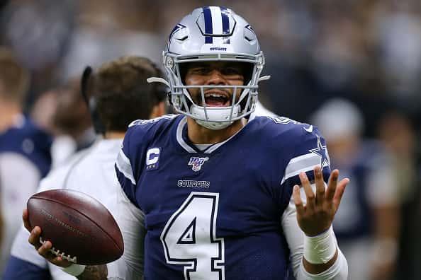 Dallas Cowboys v New Orleans Saints People: Dak Prescott:Getty Images