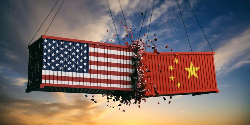 US v China trade
