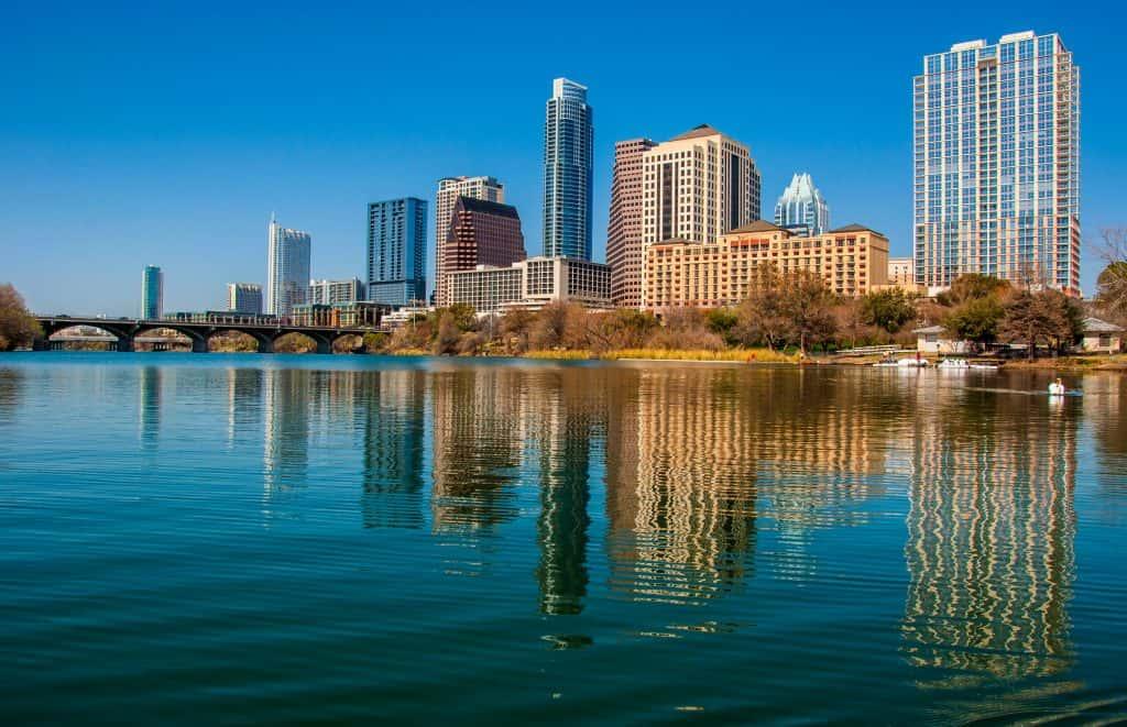 Austin lakefront