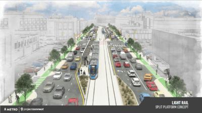 Capital Metro Lightrail concept