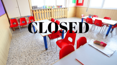 Closed daycare