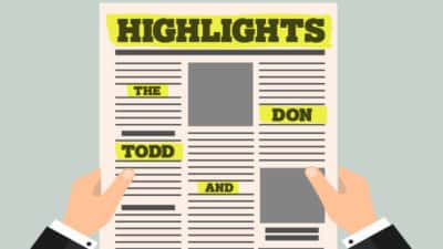 The Todd & Don Show Highlights
