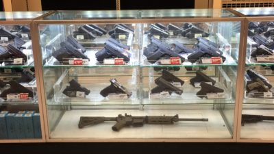 Gunstore display